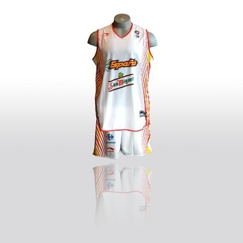 ea1d71c271ac Spain Womens National Basketball Team 2007-2008 Jersey